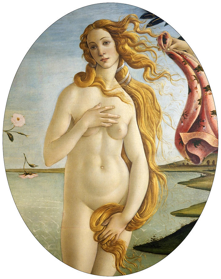 Botticelli Painting - Birth of Venus by Sandro Botticelli