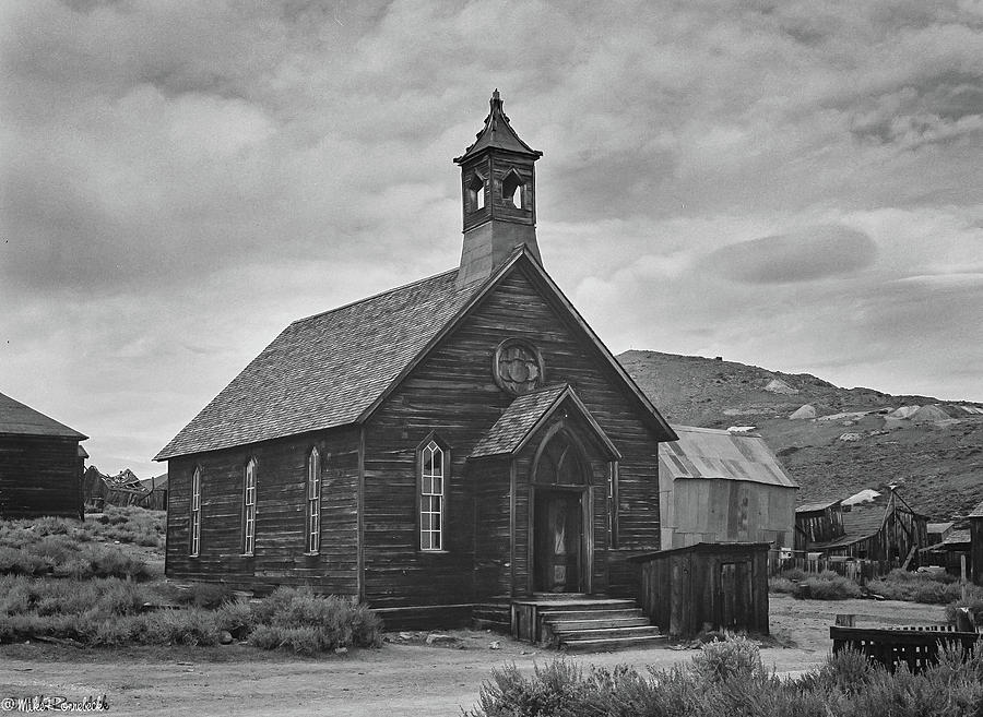 Bodie Church by Mike Ronnebeck