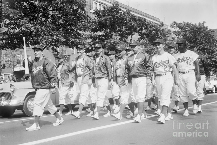 Brooklyn Dodgers 3 Photograph by Kidwiler Collection