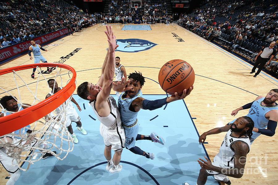 Brooklyn Nets V Memphis Grizzlies Photograph by Joe Murphy