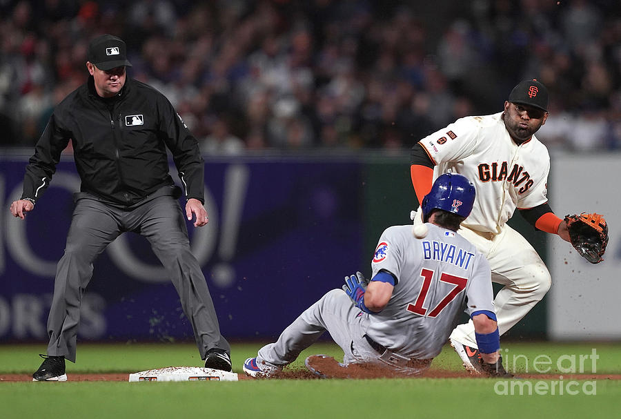 Chicago Cubs V San Francisco Giants Photograph by Thearon W. Henderson