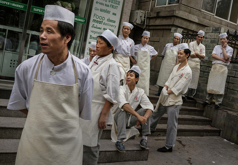 China Daily Life Photograph by Kevin Frayer