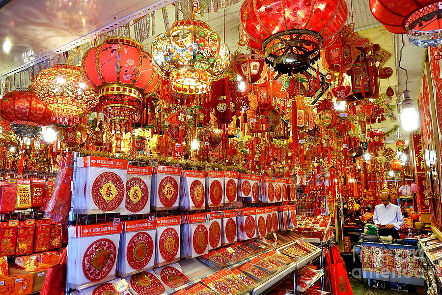 chinese new years decorations for 2019 photograph by yali shi chinese new years decorations for 2019 by yali shi