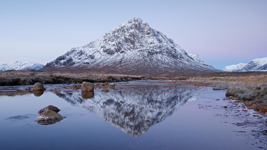 Dawn in Glencoe by Stephen Taylor