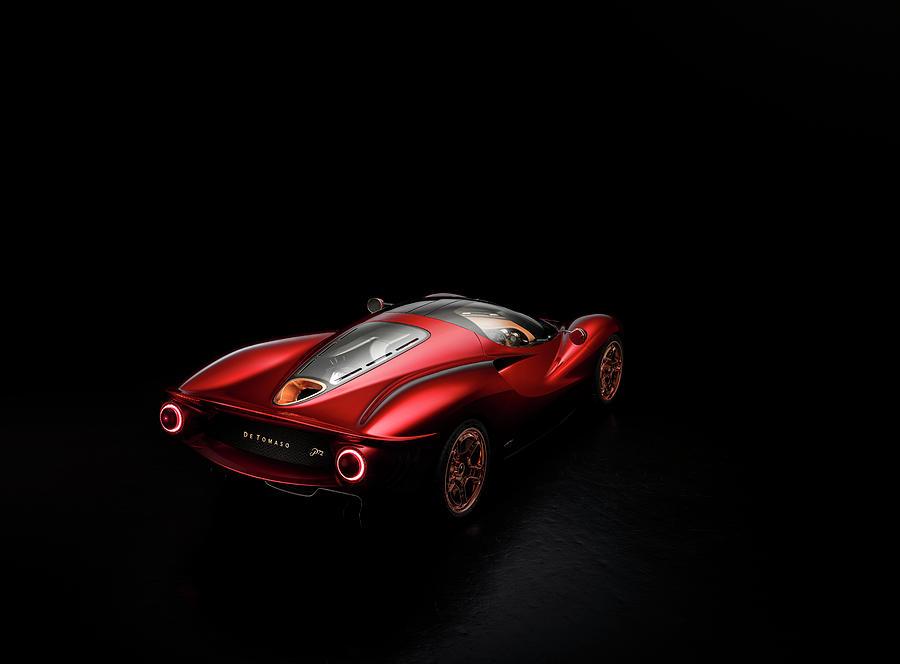 De Tomaso P72 by George Williams