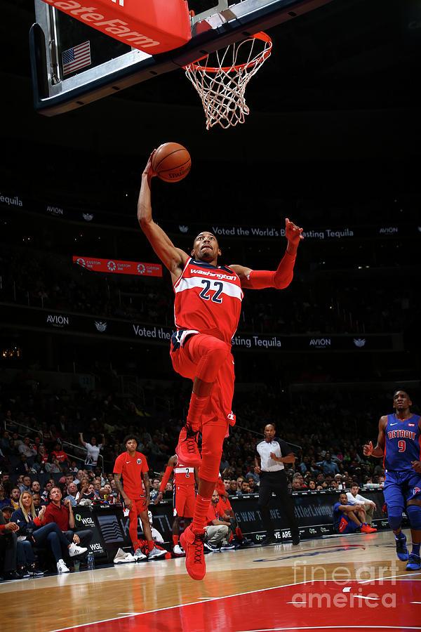 Detroit Pistons V Washington Wizards Photograph by Ned Dishman