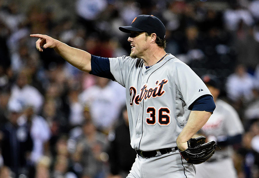 Detroit Tigers V San Diego Padres Photograph by Denis Poroy