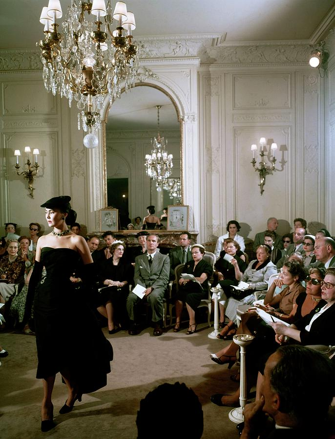 Dior In France In The 1950s - Photograph by Kammerman