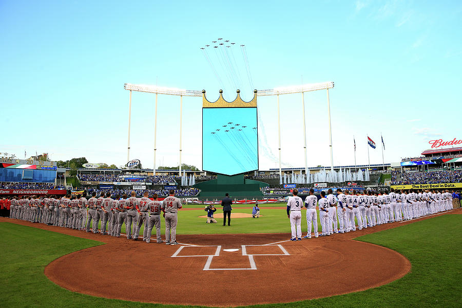 Division Series - Los Angeles Angels Of Photograph by Jamie Squire