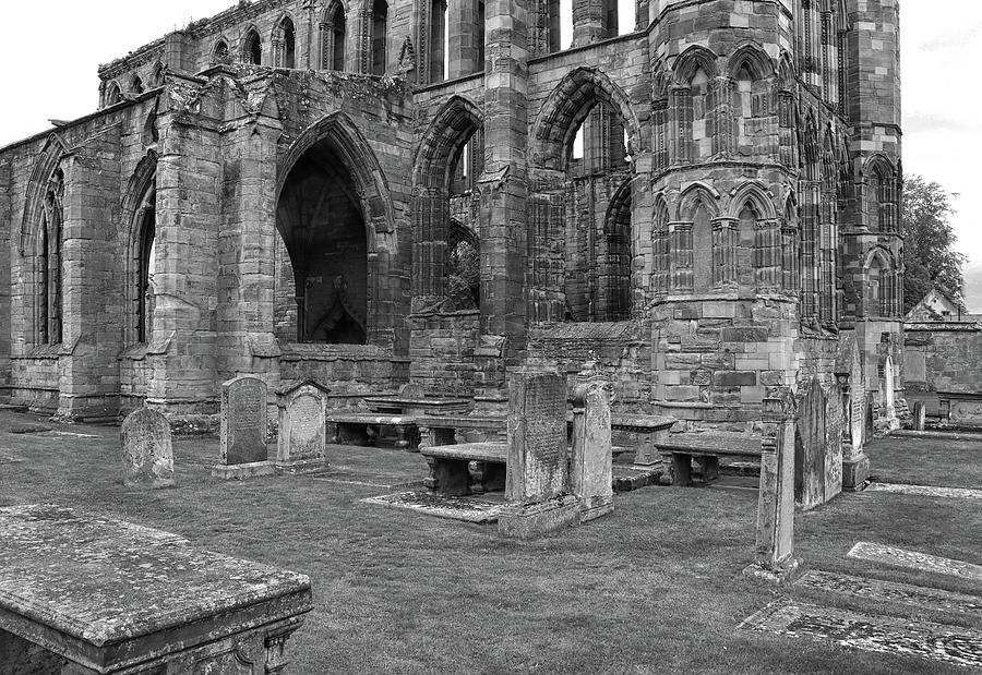 Elgin Cathedral Ruins by Dave Mills