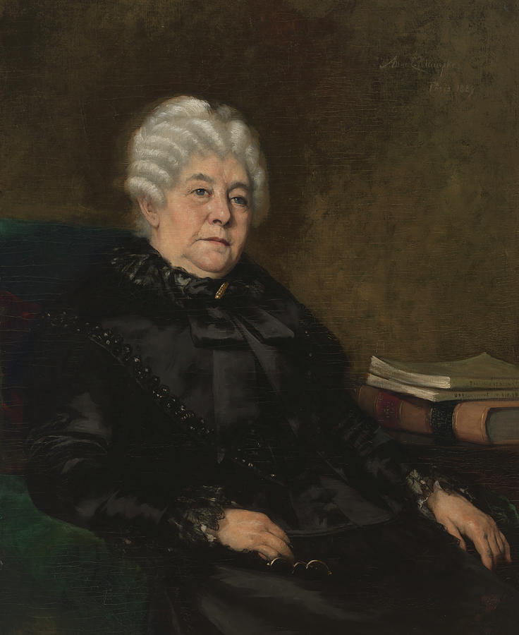 Elizabeth Cady Stanton, American by SCIENCE SOURCE