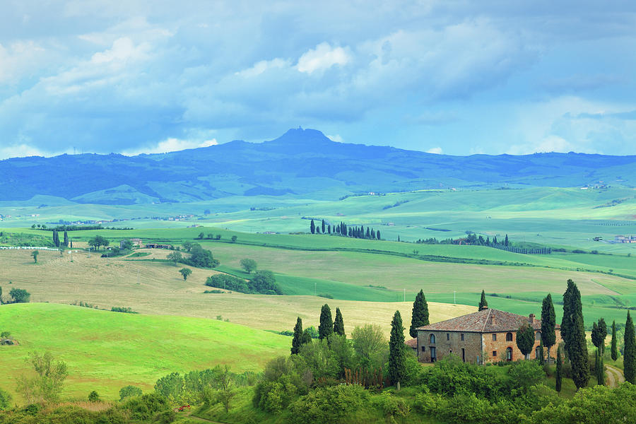 Farm In Tuscany Photograph by Mammuth