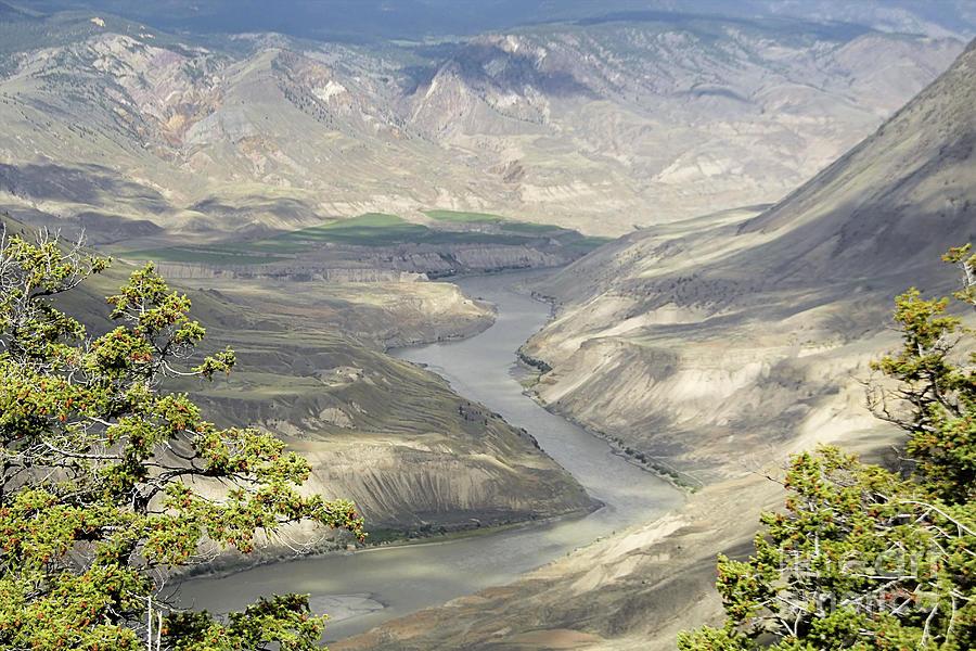 Fraser River basin by Roland Stanke