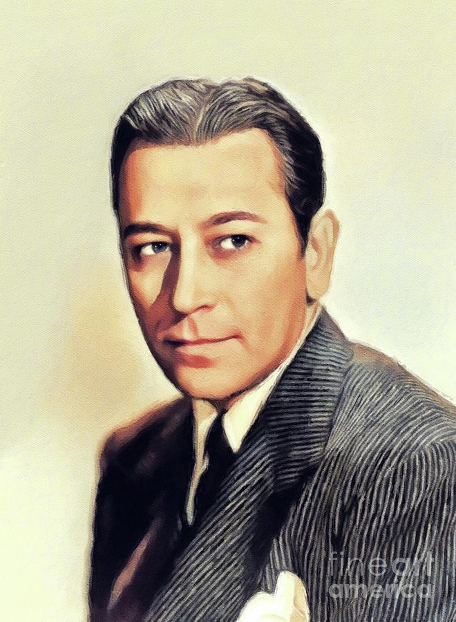 George Raft, Vintage Actor by John Springfield