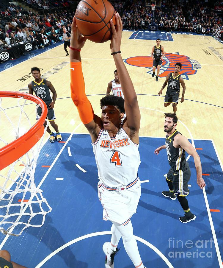 Golden State Warriors V New York Knicks Photograph by Nathaniel S. Butler