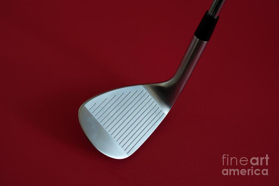 Golf Club Wedge by Mats Silvan