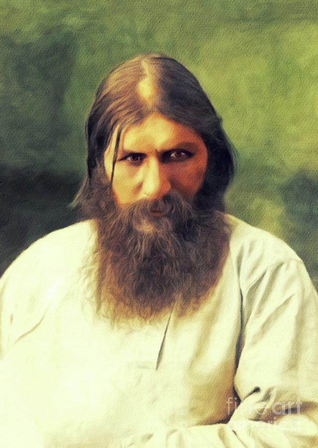 Grigori Rasputin Painting by Esoterica Art Agency