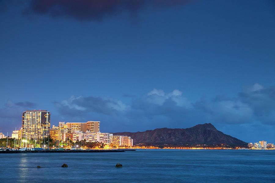 Hawaii, Oahu, Honolulu, Waikiki Beach Photograph by Michele Falzone