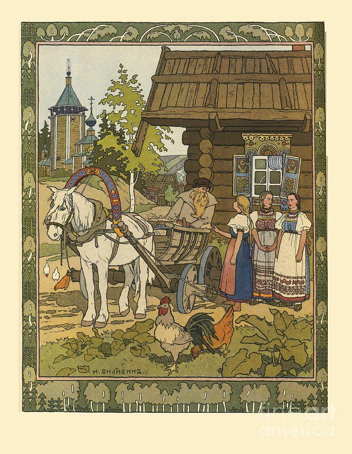 Illustration For The Fairy Tale Drawing by Heritage Images