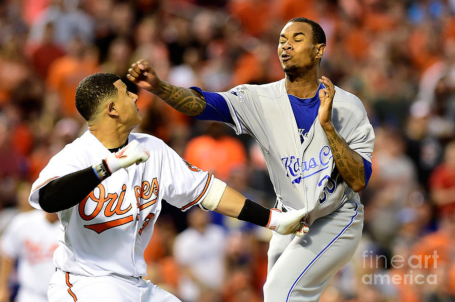 Kansas City Royals V Baltimore Orioles Photograph by Patrick Mcdermott