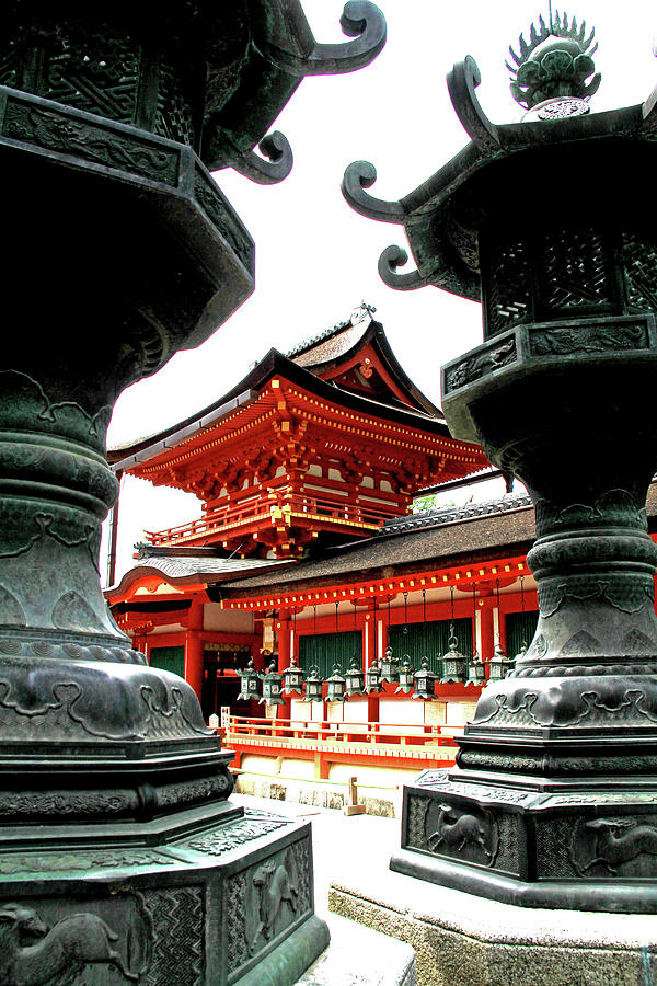 Kasuga Taisha Shrine - Nara, Japan by Richard Krebs