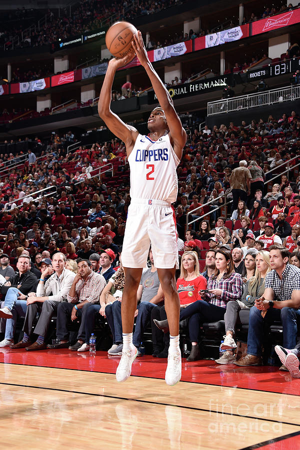 La Clippers V Houston Rockets Photograph by Bill Baptist