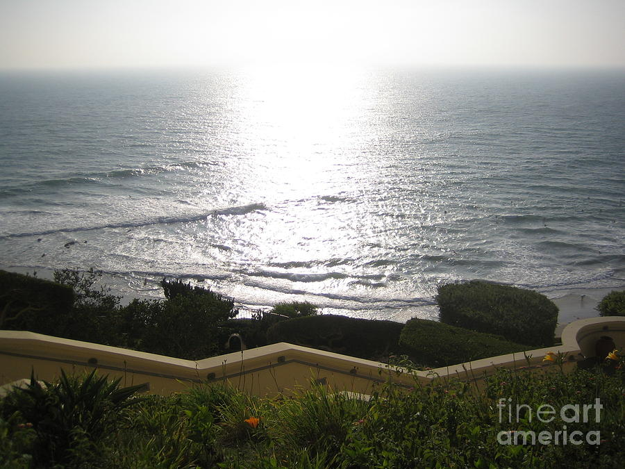 Laguna Beach Orange County California Usa A Lazy Gorgeous Sunny Summer Afternoon Ocean View 2008 by John Shiron