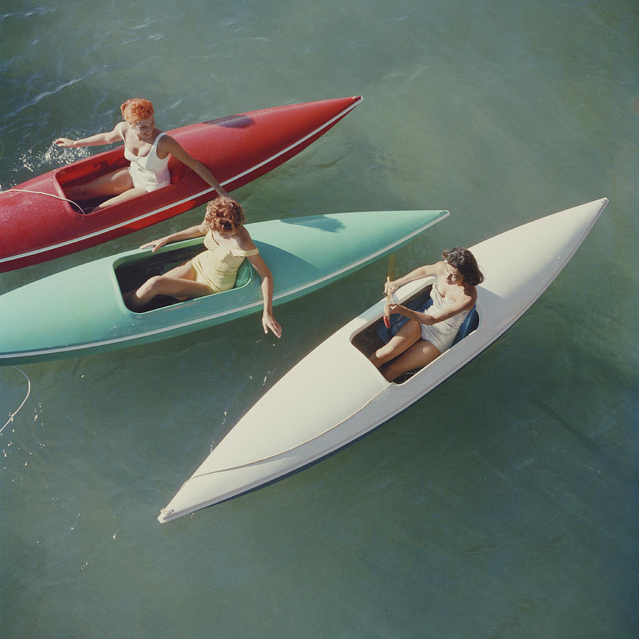 Lake Tahoe Trip Photograph by Slim Aarons