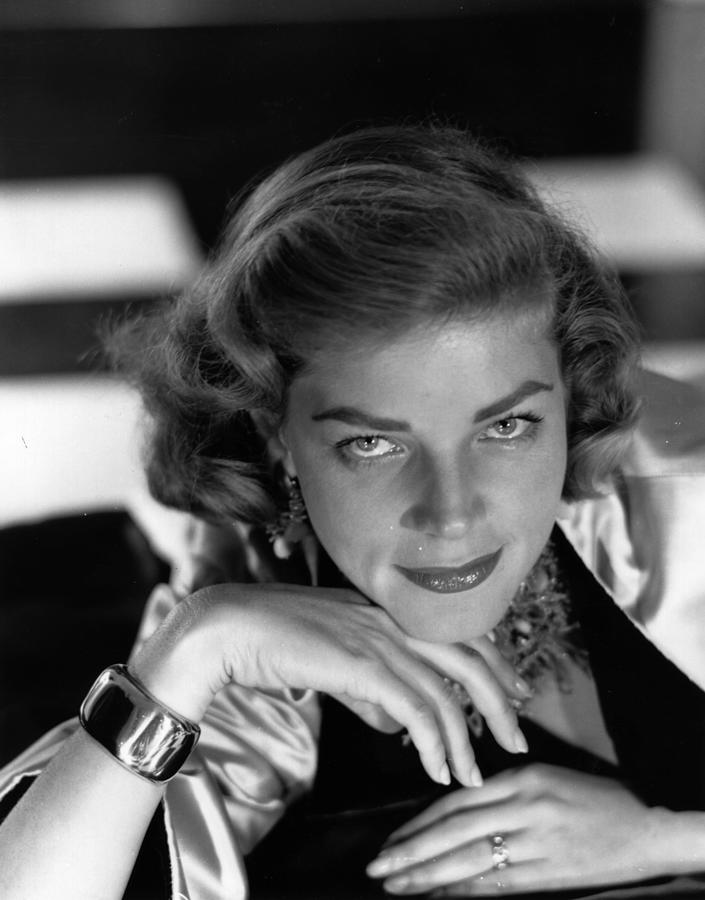 Lauren Bacall Photograph by Baron