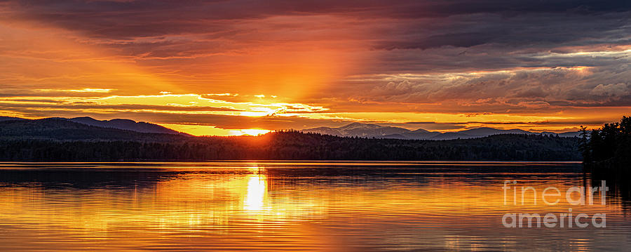 Long Lake Sunset by Craig Shaknis