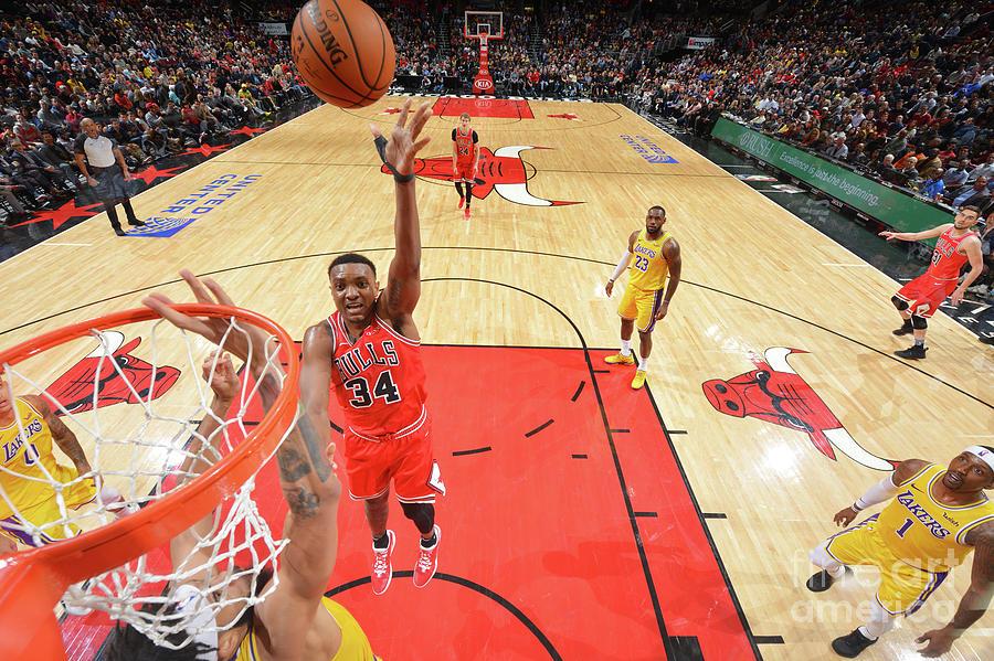 Los Angeles Lakers V Chicago Bulls Photograph by Jesse D. Garrabrant