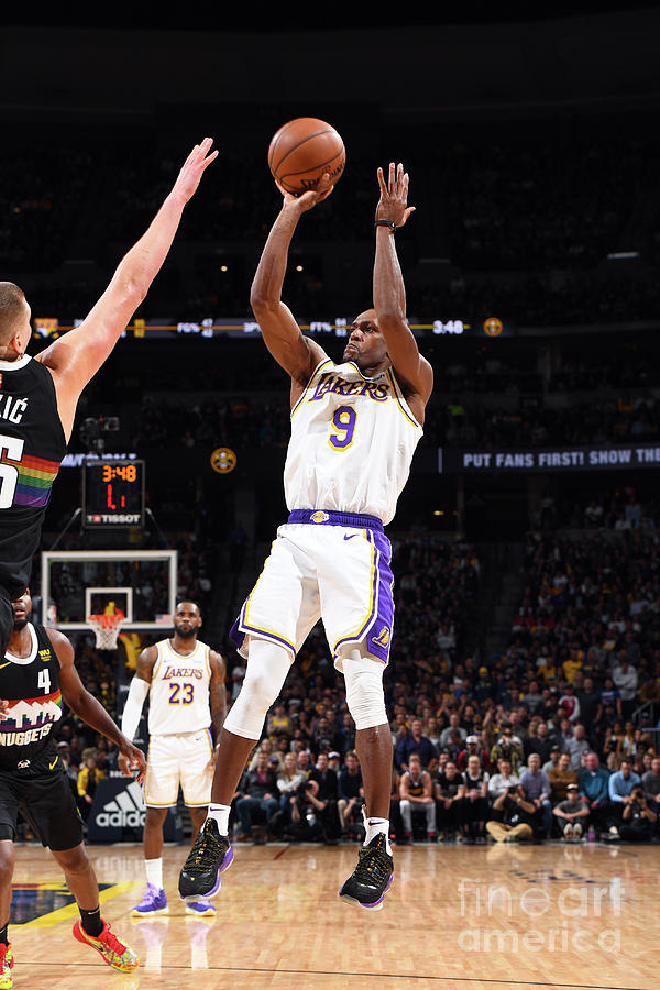 Los Angeles Lakers V Denver Nuggets Photograph by Garrett Ellwood