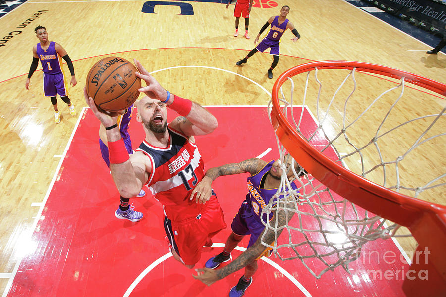 Los Angeles Lakers V Washington Wizards 3 Photograph by Ned Dishman