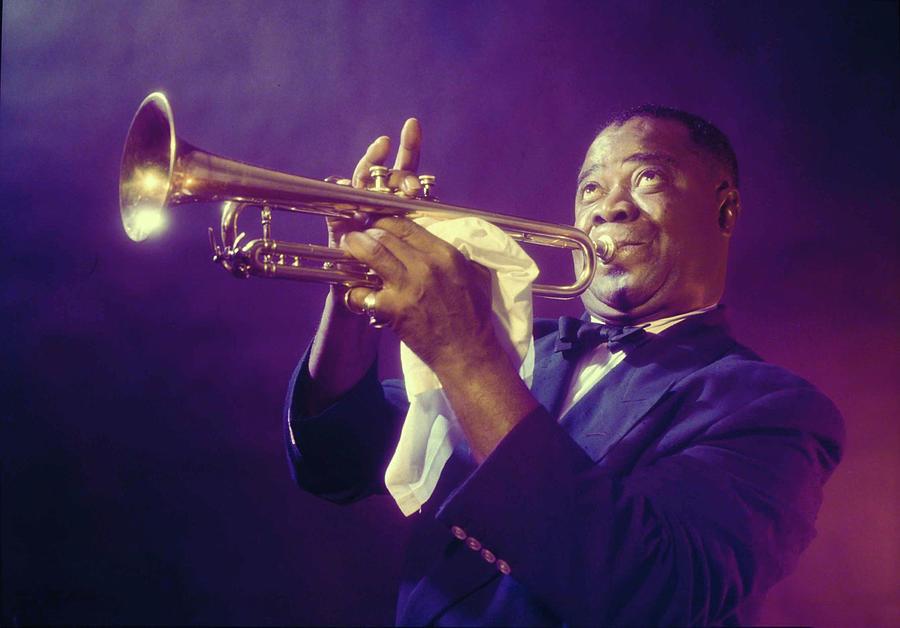 Louis Armstrong Photograph by Eliot Elisofon