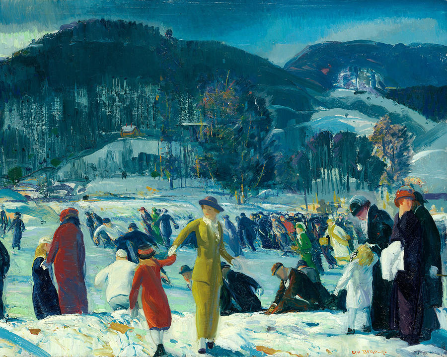 Love of Winter by George Bellows