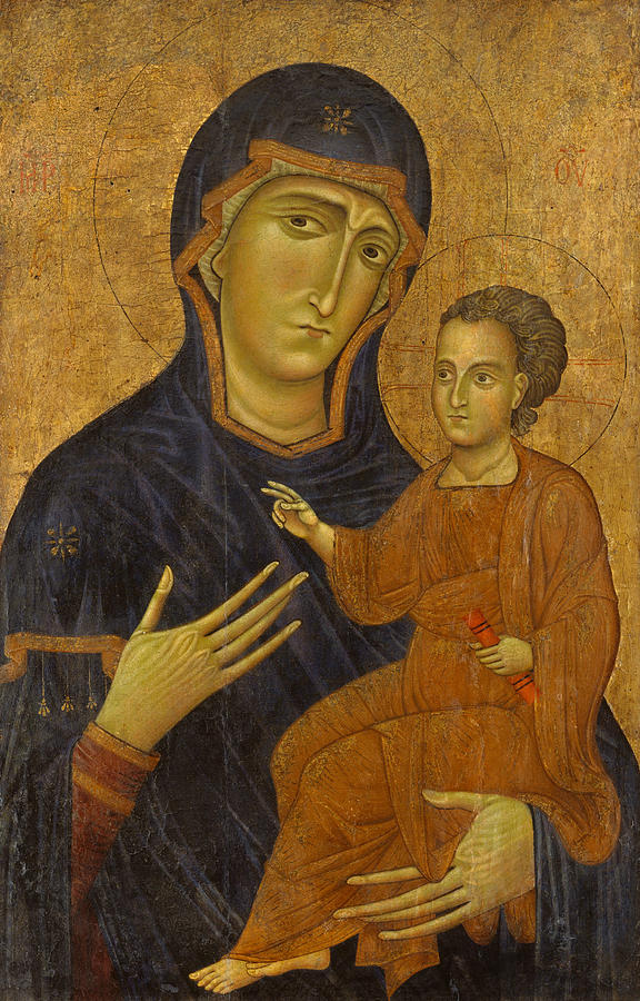 Madonna and Child by Berlinghiero