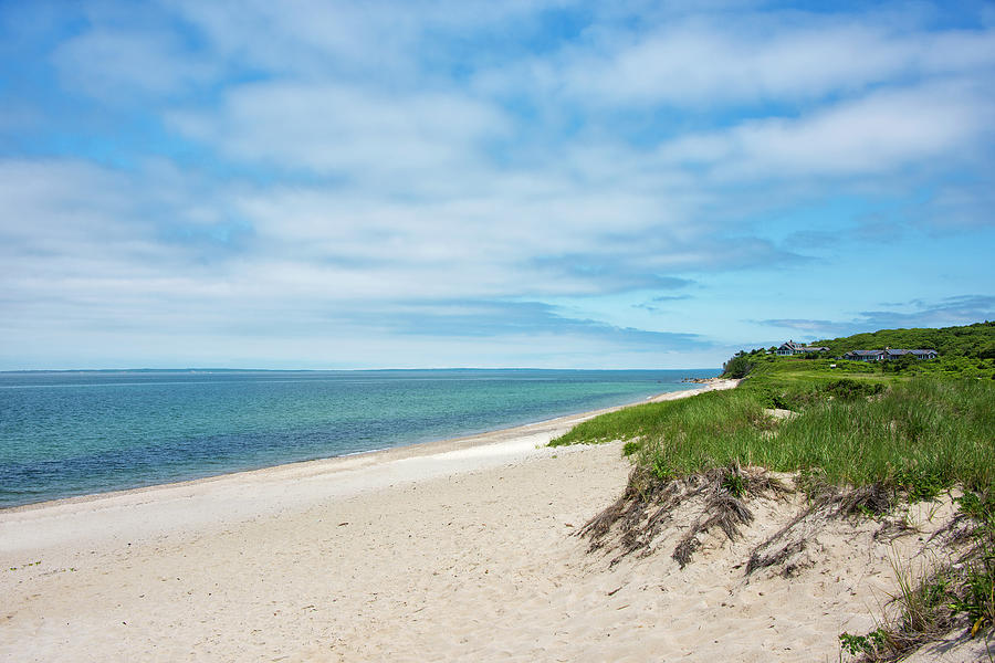 Martha's Vineyard Photograph - Menemsha Beach On Marthas Vineyard by Brendan Reals