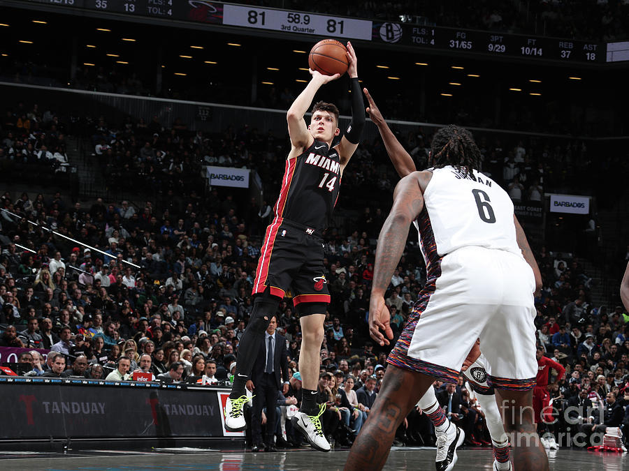 Miami Heat V Brooklyn Nets Photograph by Nathaniel S. Butler
