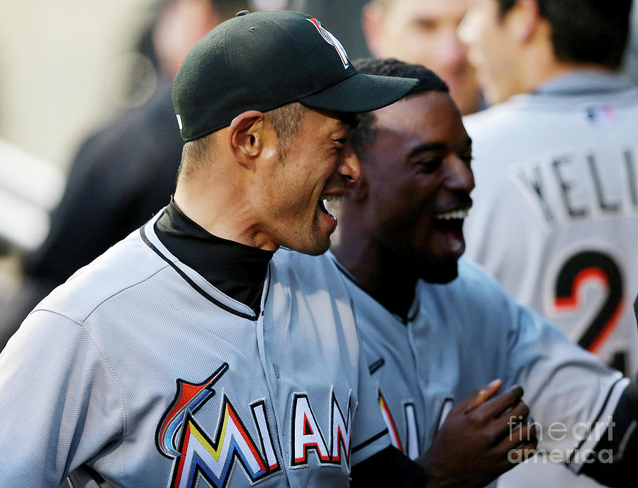 Miami Marlins V New York Mets Photograph by Elsa