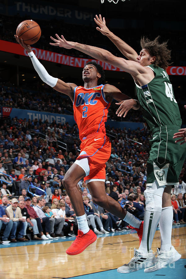 Milwaukee Bucks V Oklahoma City Thunder Photograph by Zach Beeker