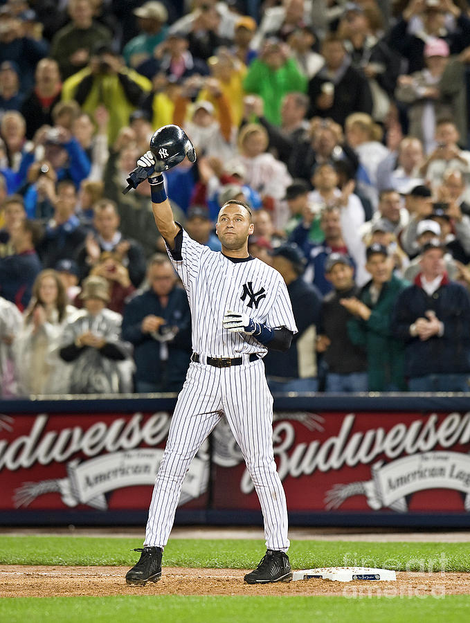 Mlb Sep 11 Orioles At Yankess - Derek Photograph by Icon Sports Wire