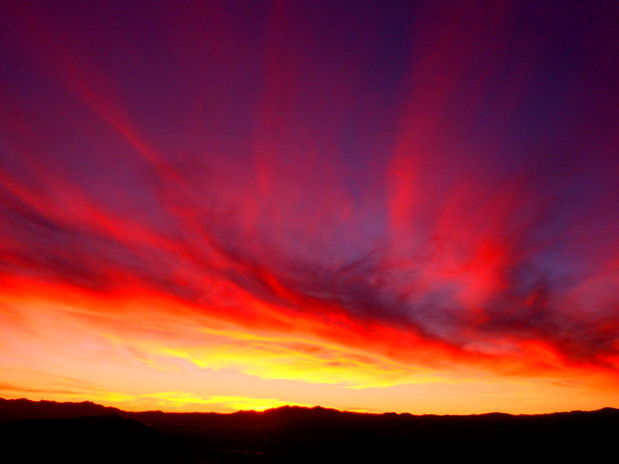 Good Photograph - Mohave Desert Sunset by James Welch