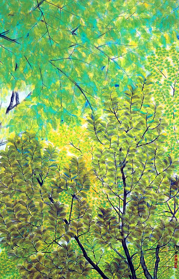 New Leaves Painting