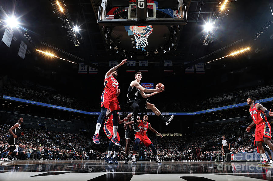 New Orleans Pelicans V Brooklyn Nets Photograph by Nathaniel S. Butler