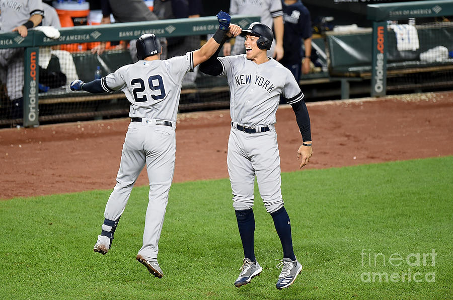 New York Yankees V Baltimore Orioles Photograph by Greg Fiume