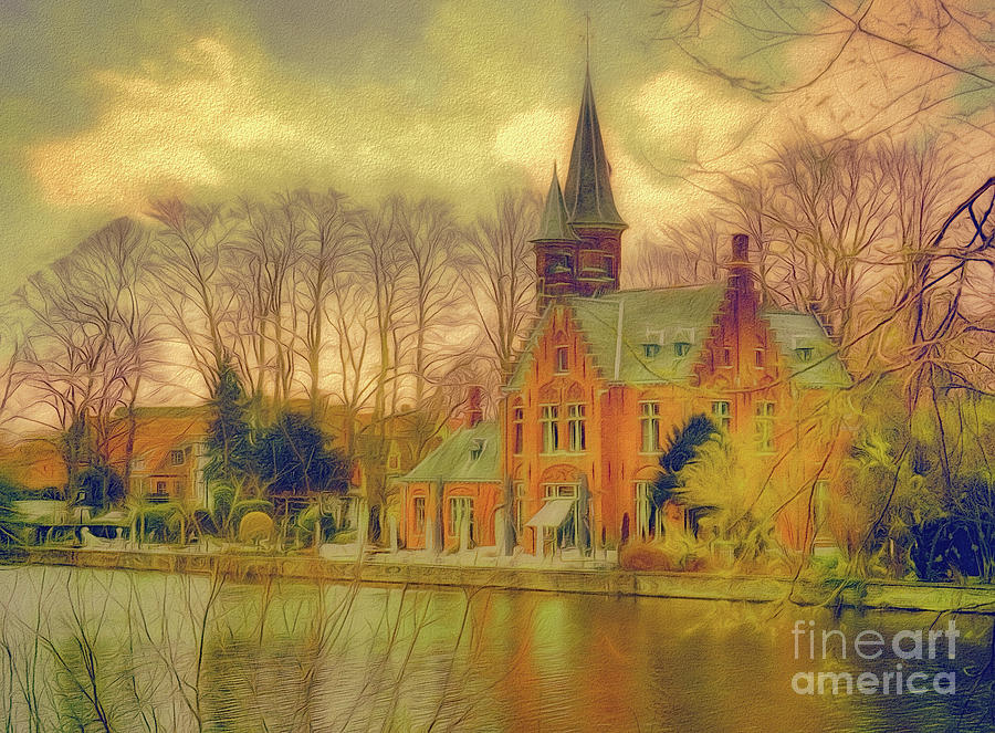 3 nights in Brugge Series No 30 by Leigh Kemp