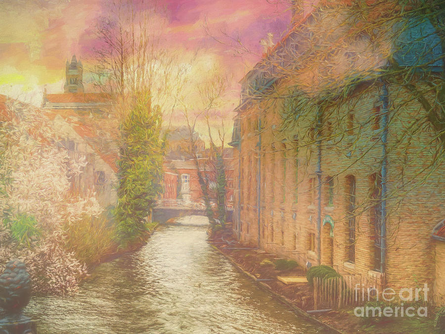 3 Nights In Brugge Series No 32 Play misty for me by Leigh Kemp