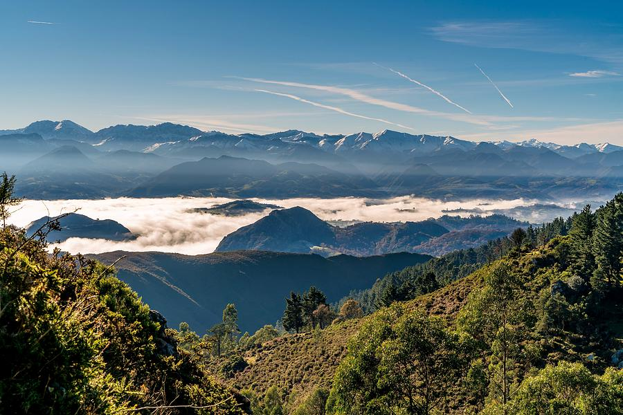 Asturias Photograph - Northern Spain by Ric Schafer