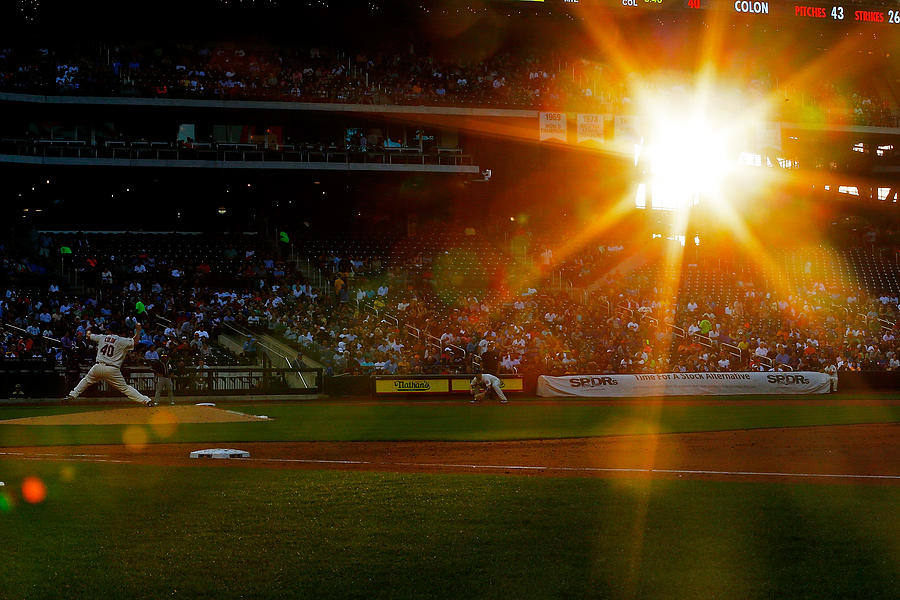 Oakland Athletics V New York Mets Photograph by Mike Stobe