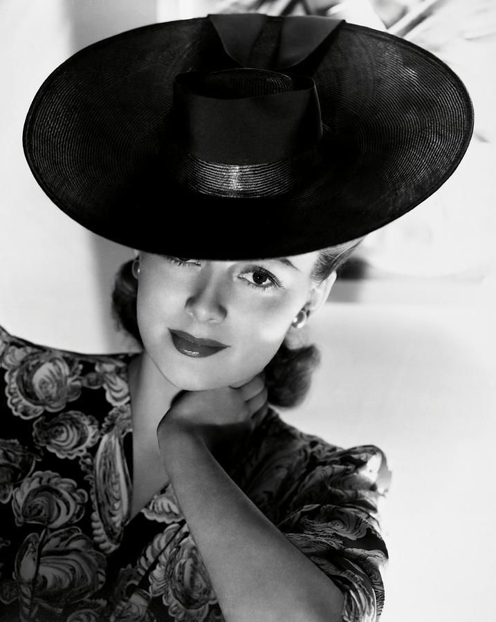 Olivia De Havilland . Photograph by Album